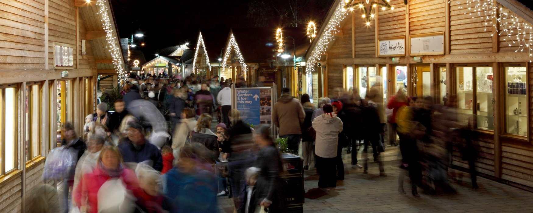 Christmas Shopping at Trentham