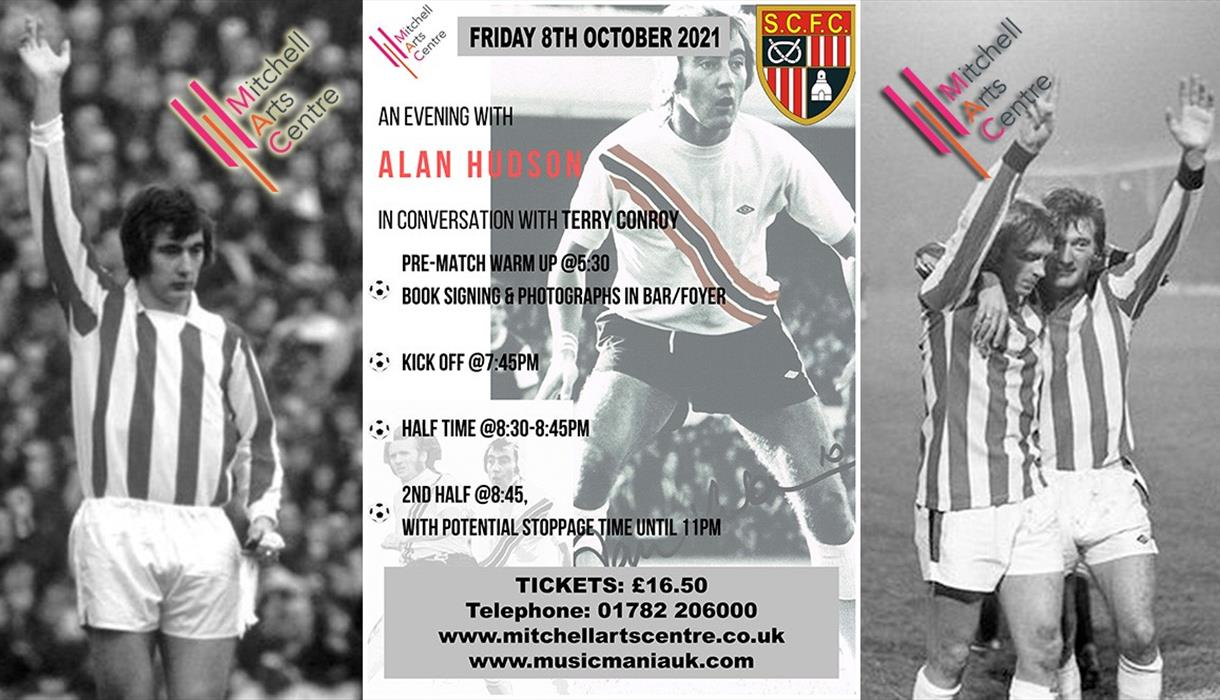 An Evening with Alan Hudson - In Conversation with Terry Conroy