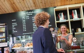 The Bakehouse Café Bar at the Trentham Estate