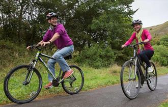 Cycling on the Manifold Track-image courtesy of Roy Riley