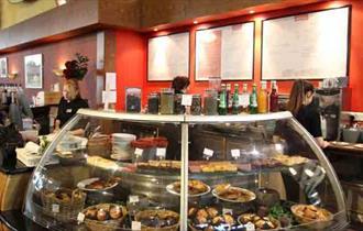 Caffe Bello within the Garden Centre