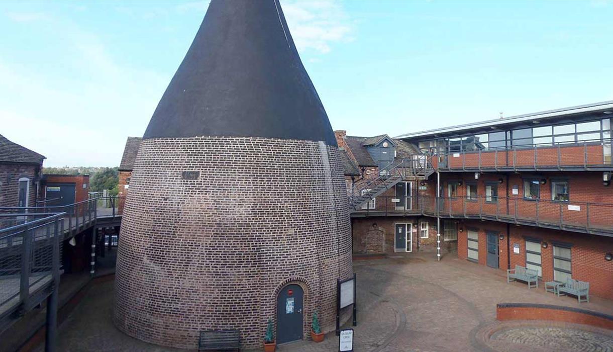 view outside the kiln