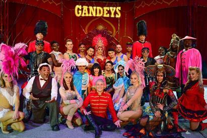 Gandeys Circus – 'SPOOKTACULAR' (Trentham)