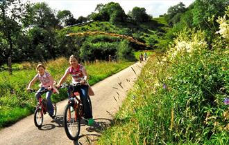 Cycling down the Manifold track. Image courtesy Cathy Bower Photography.