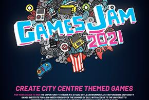 Stoke ON TREND GamesJam 2021: Play in the City Centre