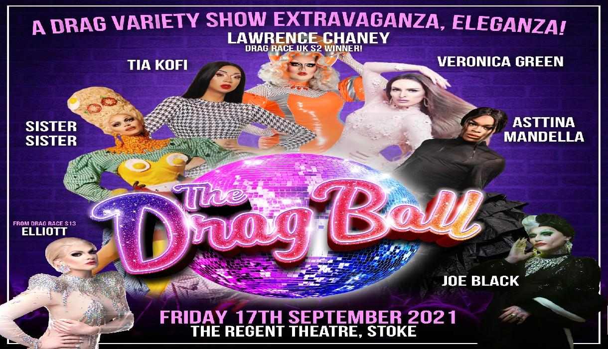 Start your Engines as The Drag Ball comes to the Regent Theatre