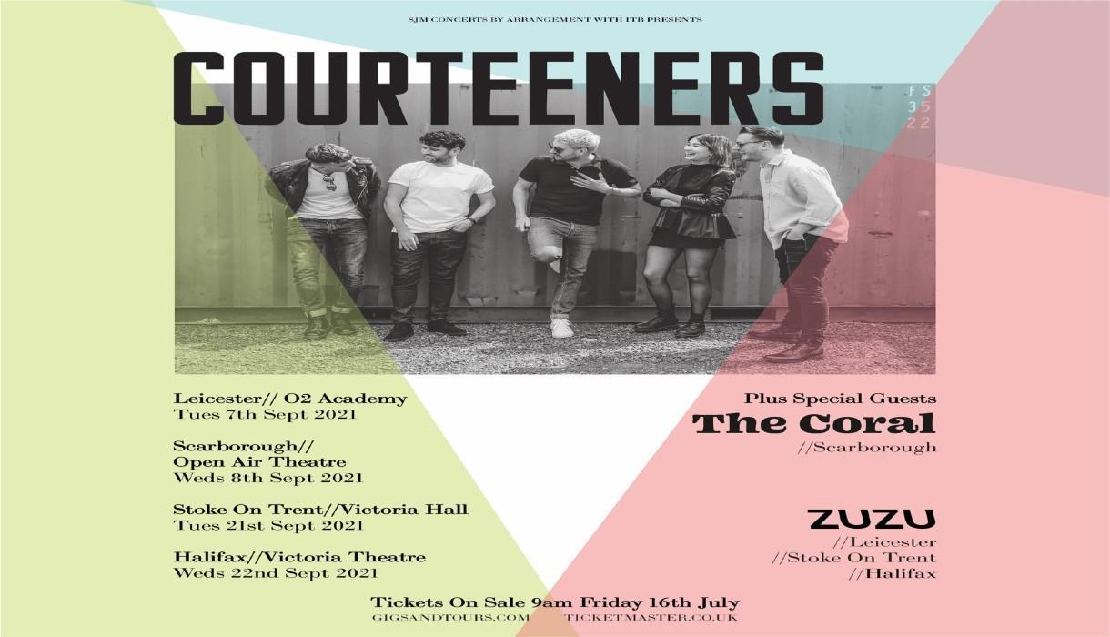 Courteeners Return To Stoke-on-Trent Victoria Hall