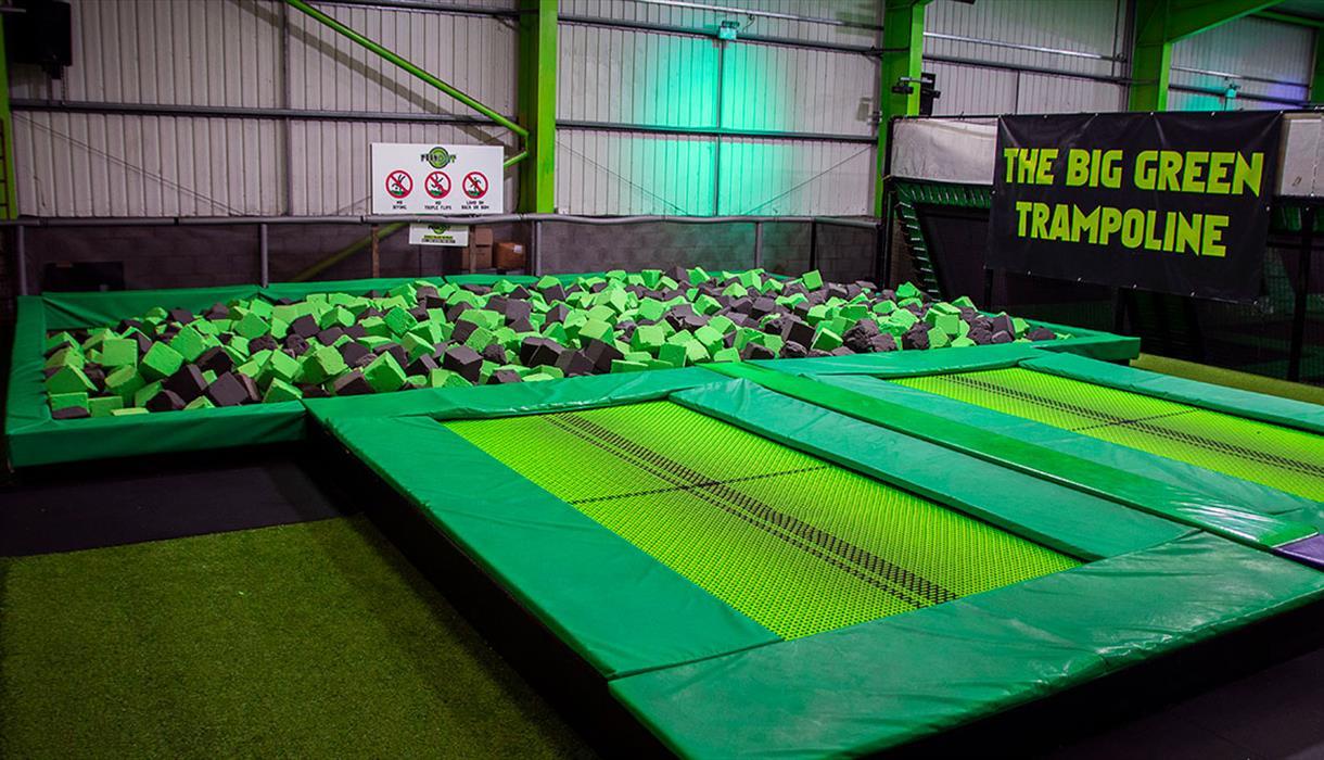 Stoke Arena Foam Pool