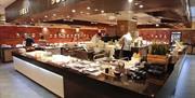 Bon Pan Asian buffet station