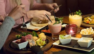 Delicious Mexican food at Chiquito Restaurant