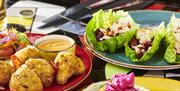 A selection of dishes at Chiquitos