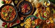 A selection of dishes from Chiquitos