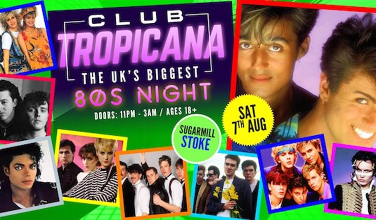 CLUB TROPICANA – 80's Night