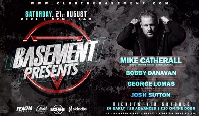 Basement Presents. With special guest Mike Catherall