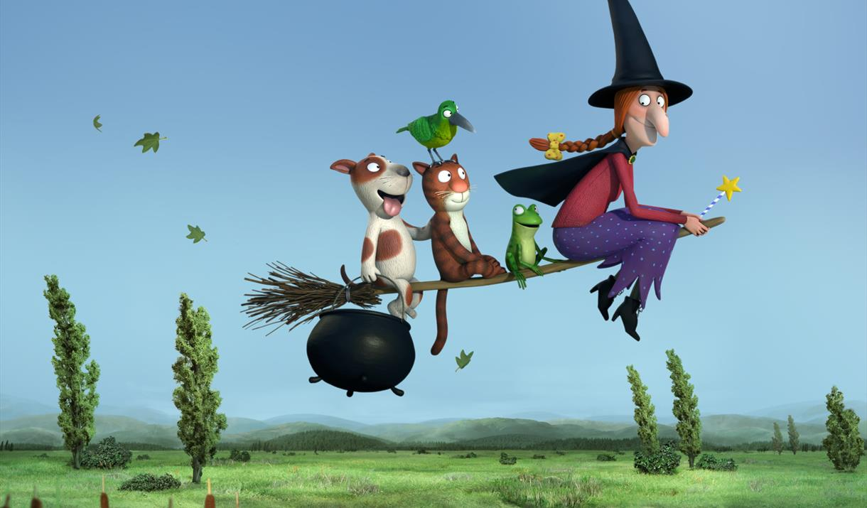 Tots Film Club at Mitchell Arts Centre: Room on the Broom & Zog