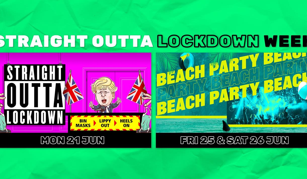 """""""Straight Outta Lockdown"""" at Fiction"""