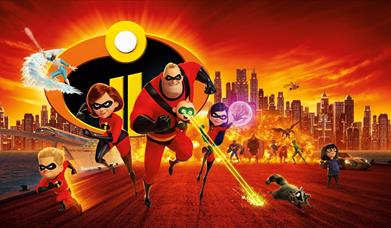Sunday Family Film Club at Mitchell Arts Centre: The Incredibles 2