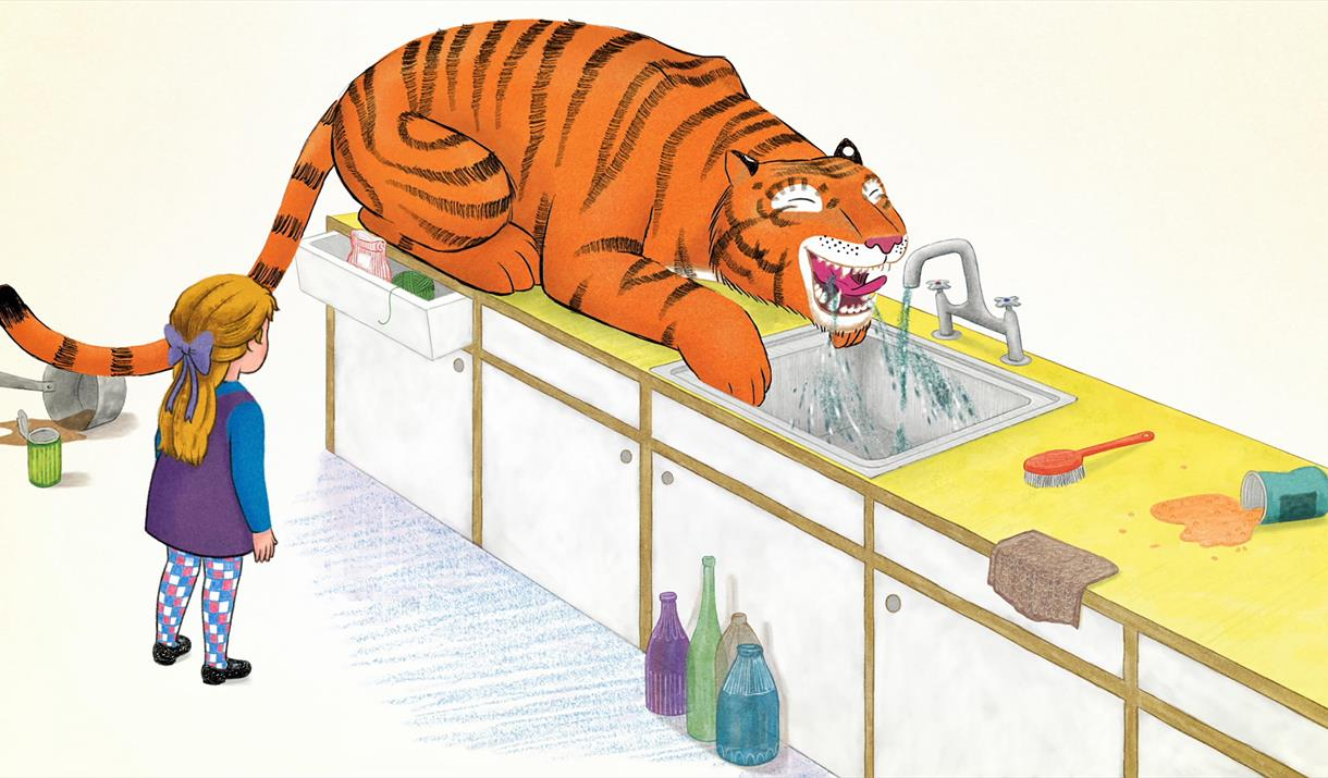 Tots Film Club at Mitchell Arts Centre: The Tiger Who Came to Tea & We're Going on a Bear Hunt