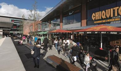 Recently extended, intu Potteries is now home to Cineworld and seven delicious restaurants.