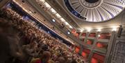 Audience in the Regent Theatre auditorium