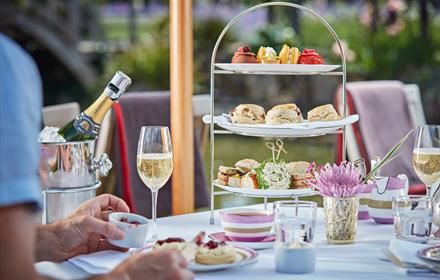 Afternoon Tea at Great Fosters - summer