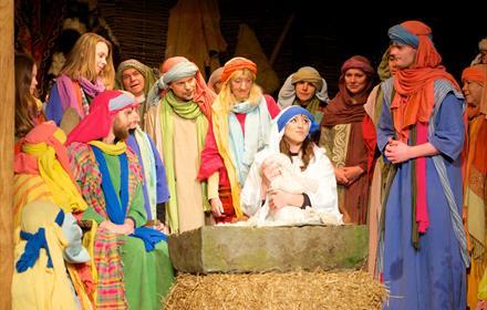 The Nativity Journey at Wintershall