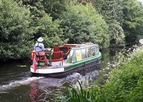 Boat Trips on the Basingstoke Canal in Woking aboard Kitty