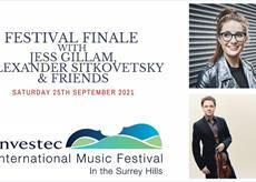 Festival Finale with Jess Gillam, Alexander Sitkovetsky & Friends