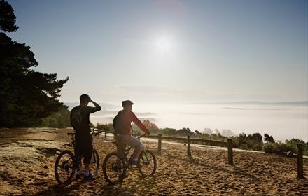 Cycling the North Downs Way - image credit John Miller