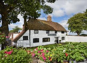 Botley Hill Farmhouse was once a cottage garden tea room.