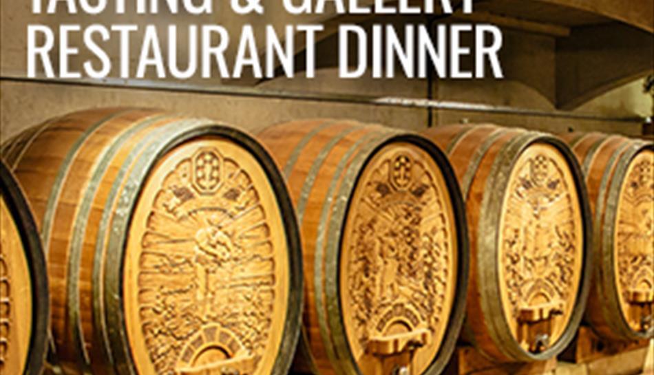 A Taste of Denbies' Cellar Wine Tasting & Gallery Dinner