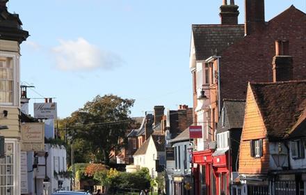 West Street in Dorking