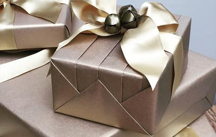 Gift Wrapping Course with Jane Means at Great Fosters