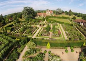 This is is of the exterior of Loseley Park