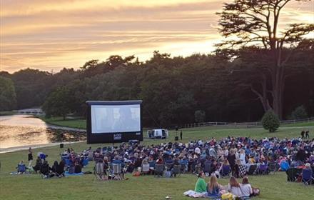 Open Air Cinema at Painshill