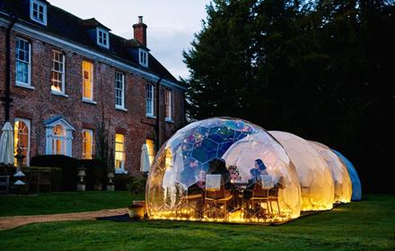 Peachy Productions events company and dome hire in Surrey