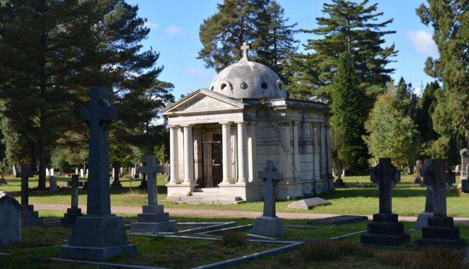 The Columbaria at Brookwood Cemetery, Woking, Surrey