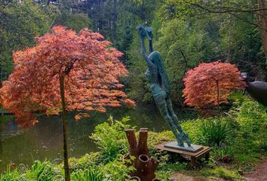 The Sculpture Park in Autumn