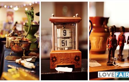Lingfield Antiques, Collectables and Vintage Market