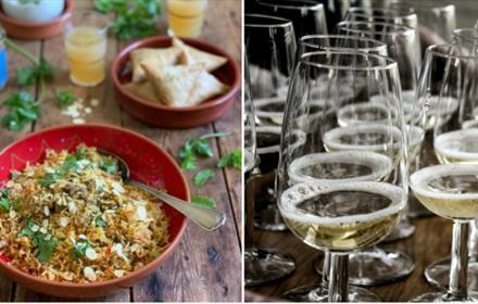 Biriyani & Bubbles at Albury Vineyard with Mandira's Kitchen