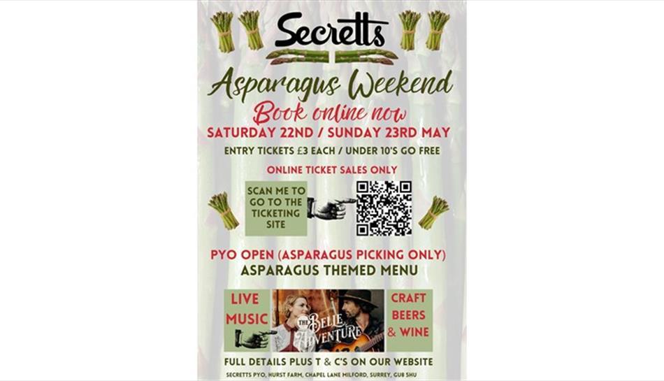 Asparagus Weekend at Secretts