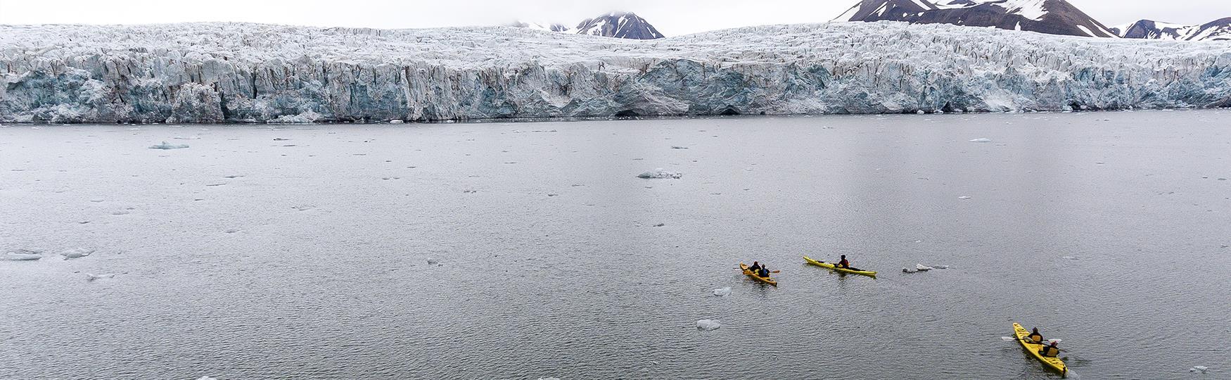 Kajakkeventyr på Svalbard