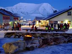 Kunstpause i Longyearbyen