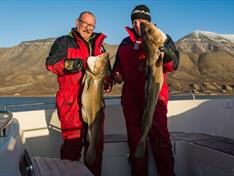 In the late summer and autumn, the waters off Longyearbyen are abounding with cod so the chances are high that you will catch fish and take great photos.|