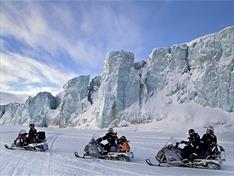 Snowmobile Svalbard