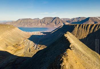 Utsikt over Longyearbyen