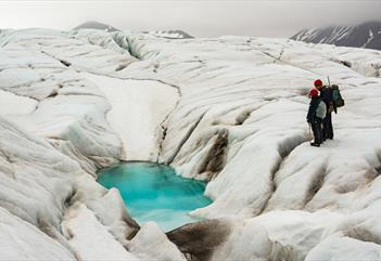 Wilderness camp 3 days: kajakk, isbree og fottur - Svalbard Wildlife Expeditions