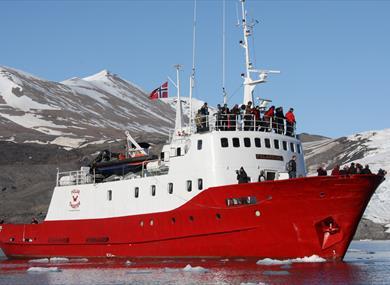 Polar Charter's boat Polargirl