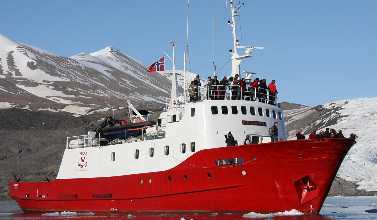 Polar Charter sin båt Polargirl
