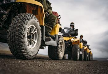 Turgruppe med ATV